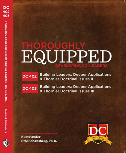 DC401 DC402 Building Leaders - Deeper Application